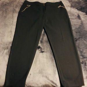 Apt 9 Women's Size 14 Black Ankle Dress Pants